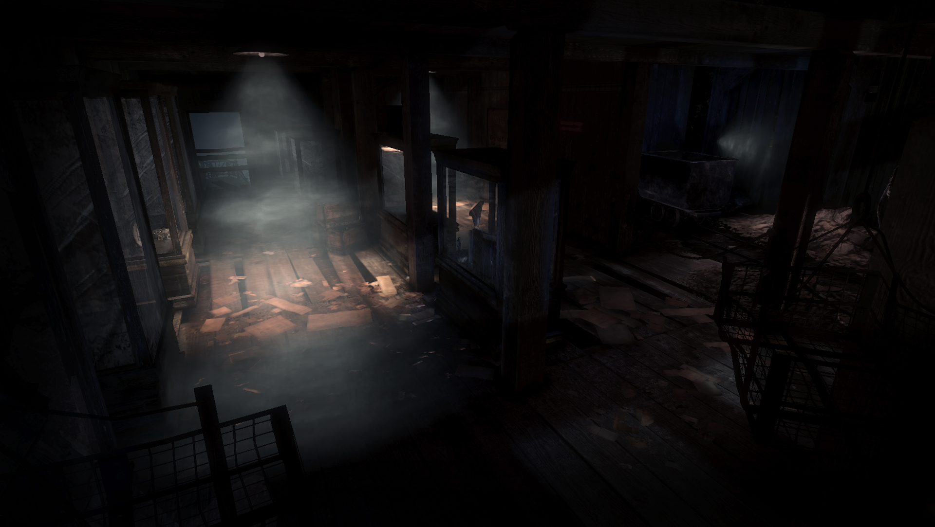 Nintnedo Fall Wallpapers Quick Shots Atmospheric Silent Hill Downpour Screens