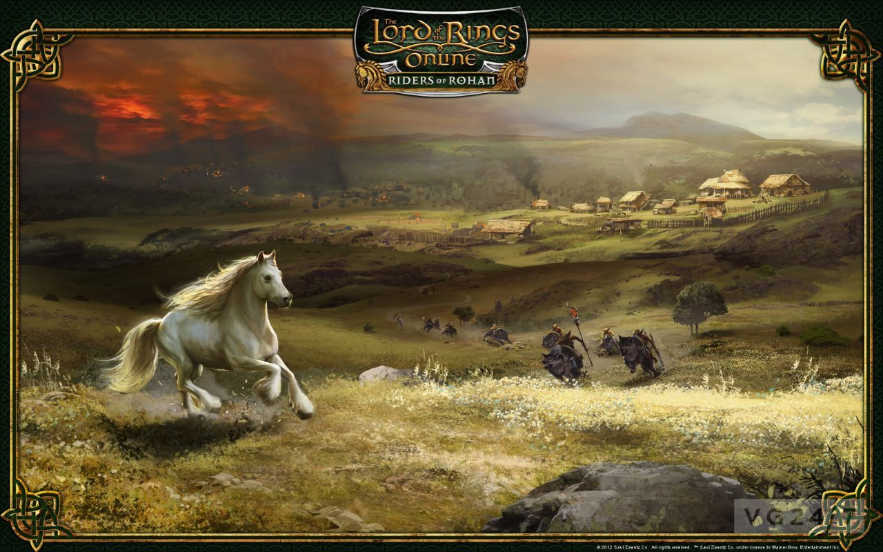 Fall Hd Wallpapers 1080p Lotro Riders Of Rohan Gets Cinematic Video Feature
