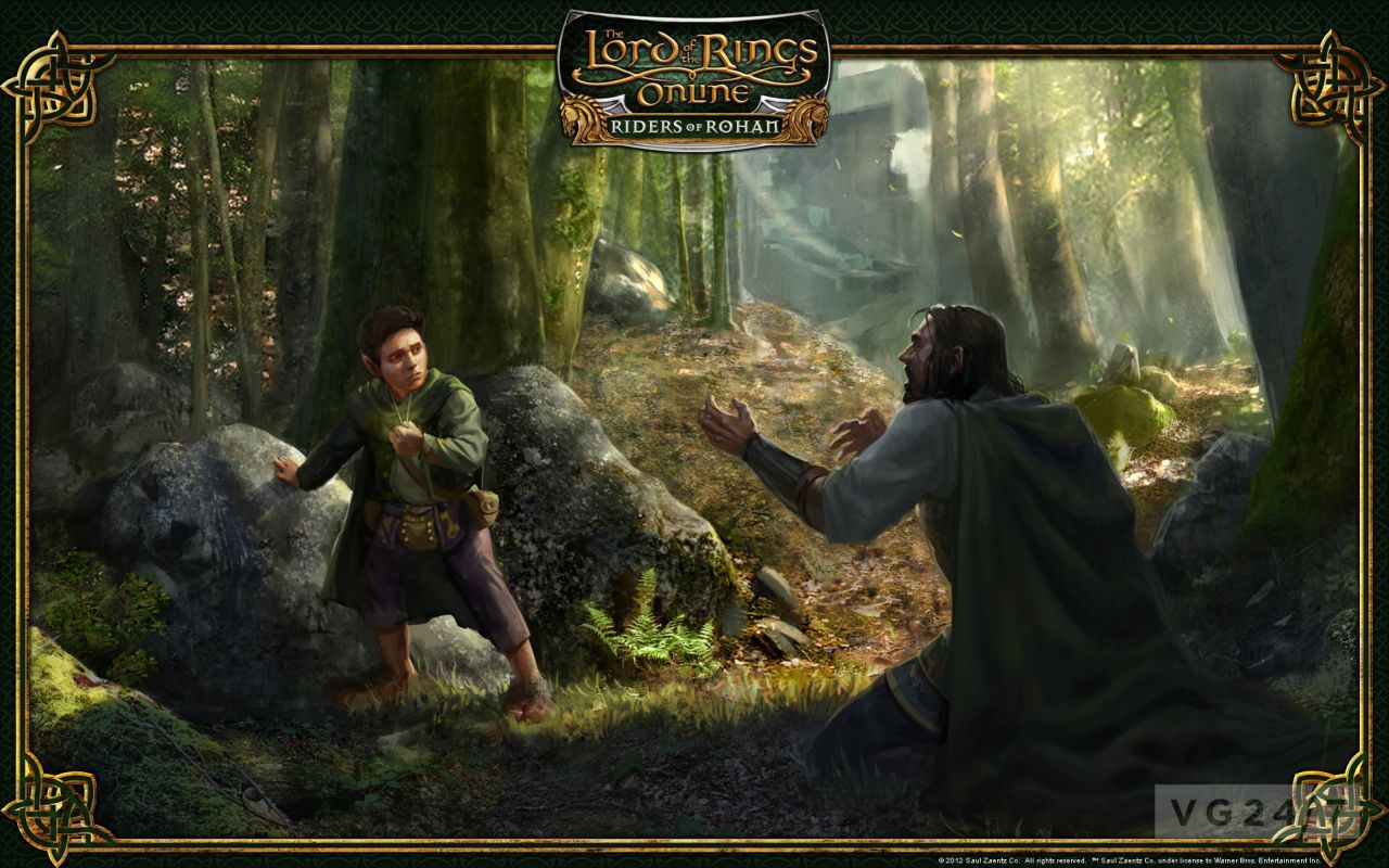 Lotr Fall Wallpaper Lotro Riders Of Rohan Gets Cinematic Video Feature