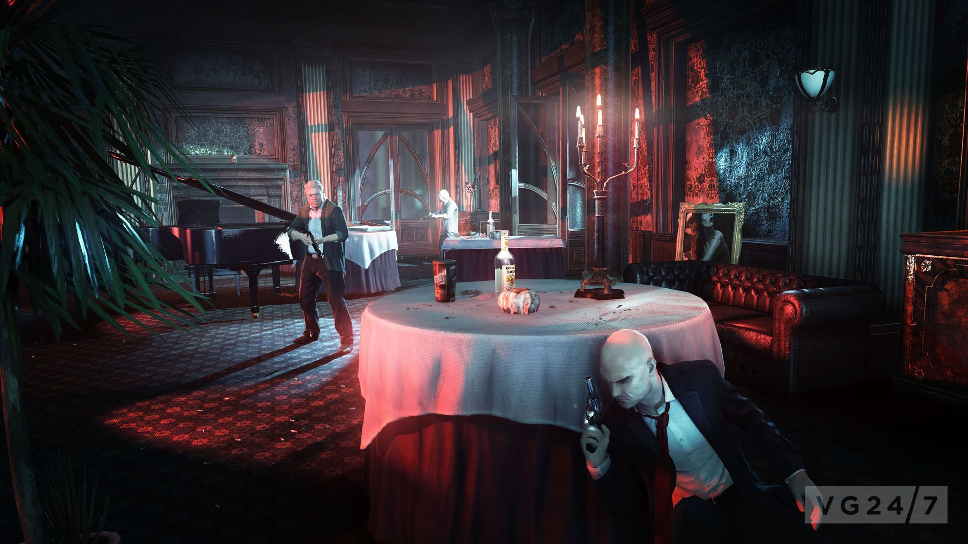 Blood Money Wallpaper Hd Hitman Absolution Shots Show Agent 47 In Various Job