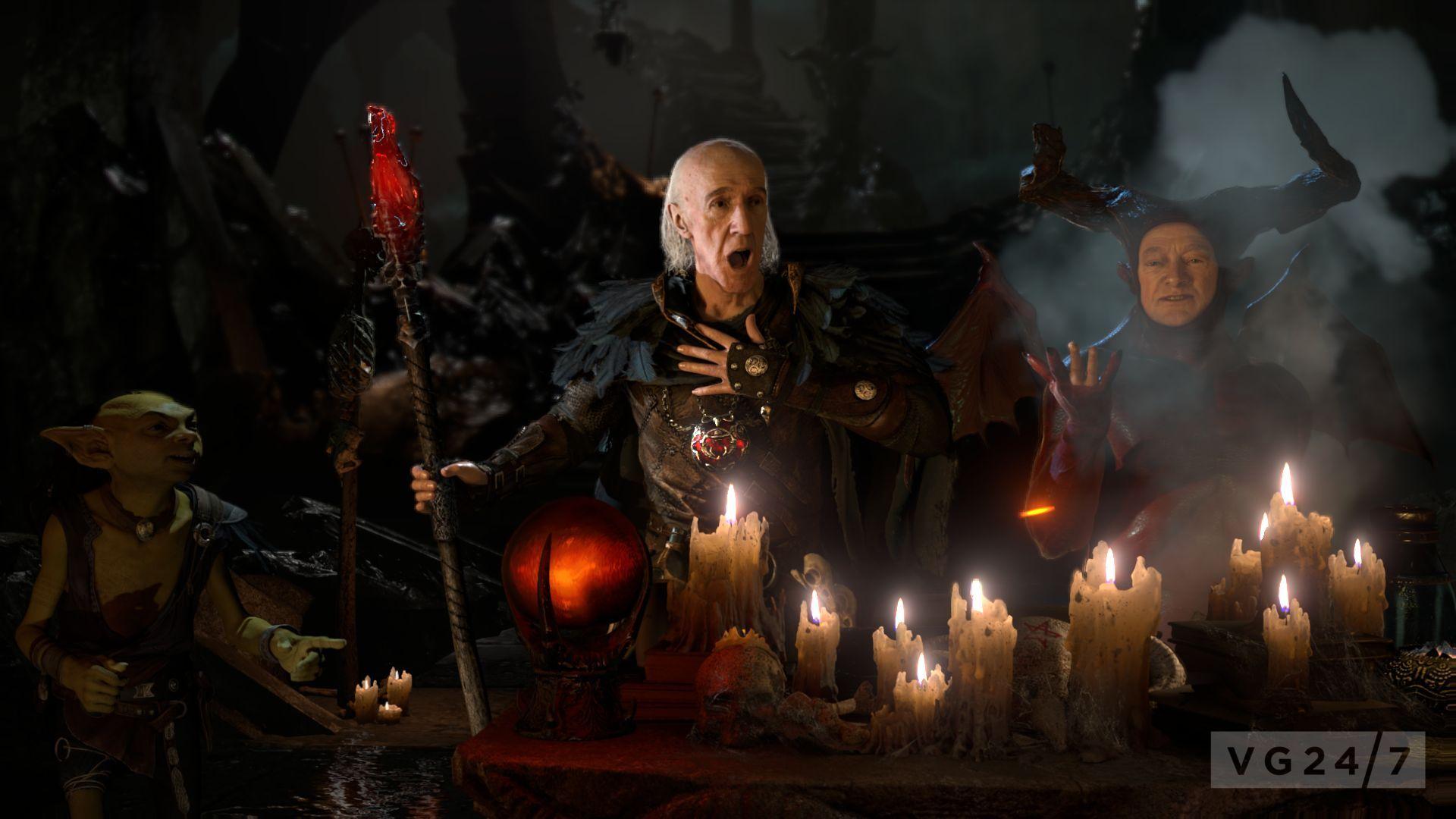 Gothic Girl Wallpaper Fantasy The Dark Sorcerer Announced Tech Demo Shown Vg247