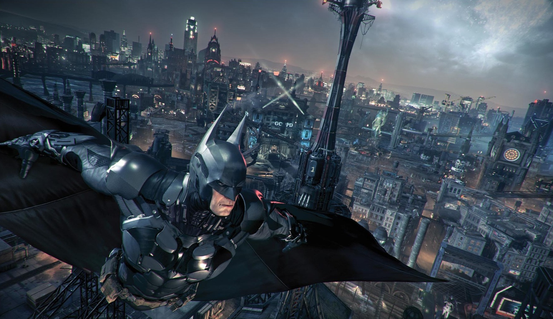 Bad Guy Set It Off New Batman Arkham Knight Screenshots Show Off Batmobile