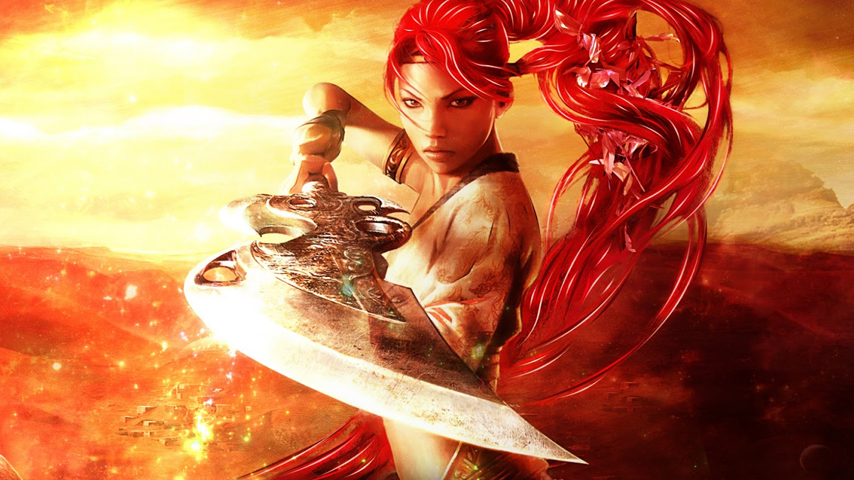 Monster Hunter Girl Wallpaper You Can Get Your Hands On The Heavenly Sword Movie In
