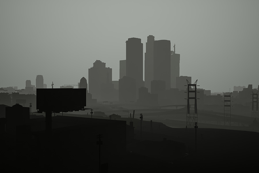 Black Textured Wallpaper Gta 5 Looks A Lot Like Limbo Without Textures Vg247