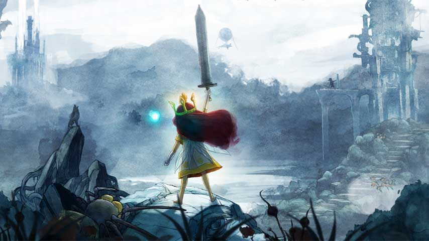 Dragon Girl Wallpaper Child Of Light Projects In The Works At Ubisoft Vg247