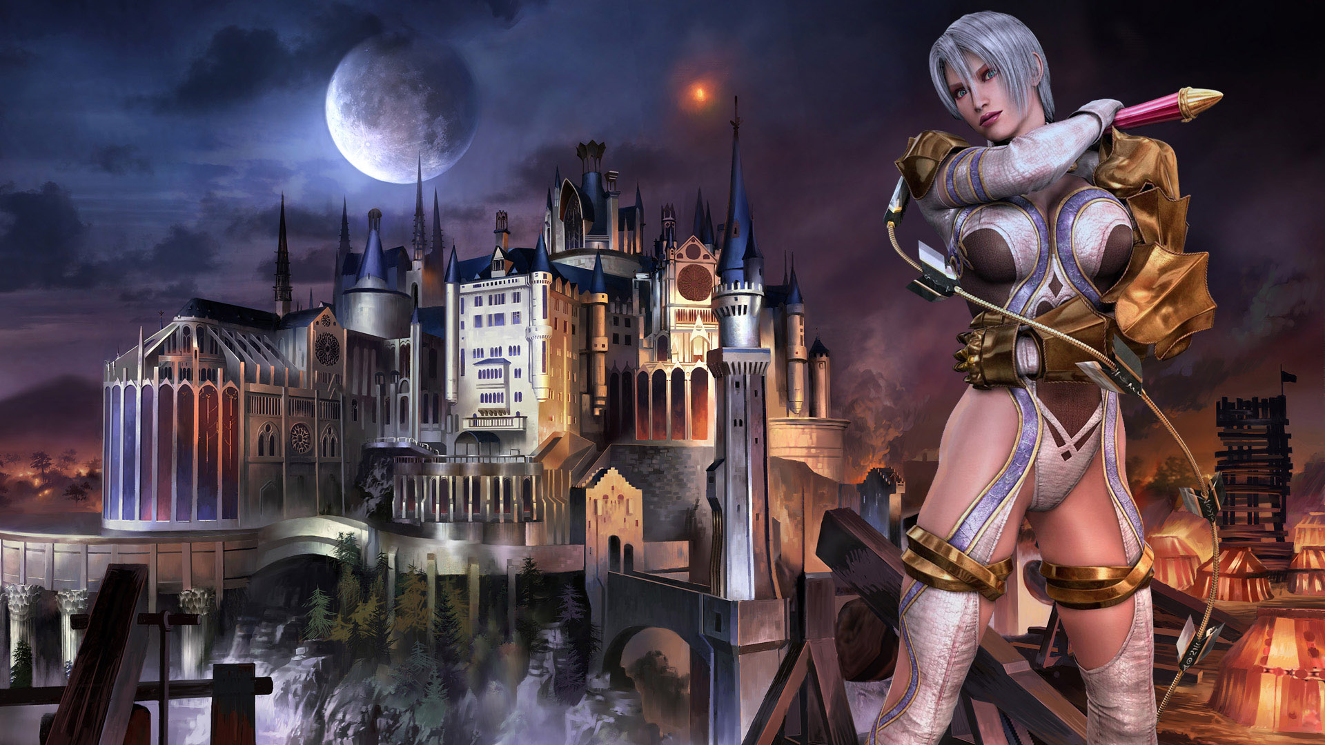 Lost Girl Wallpaper Hd Soulcalibur Dev Wants To Know Fans Favourite Characters