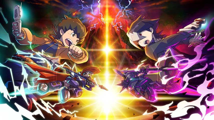 Anime Fighting Wallpaper Customise And Battle Mechs In Lbx Little Battlers