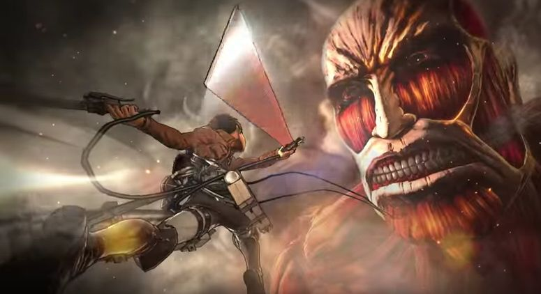 Pubg Map Wallpaper Attack On Titan Is Definitely Not A Warriors Game Vg247