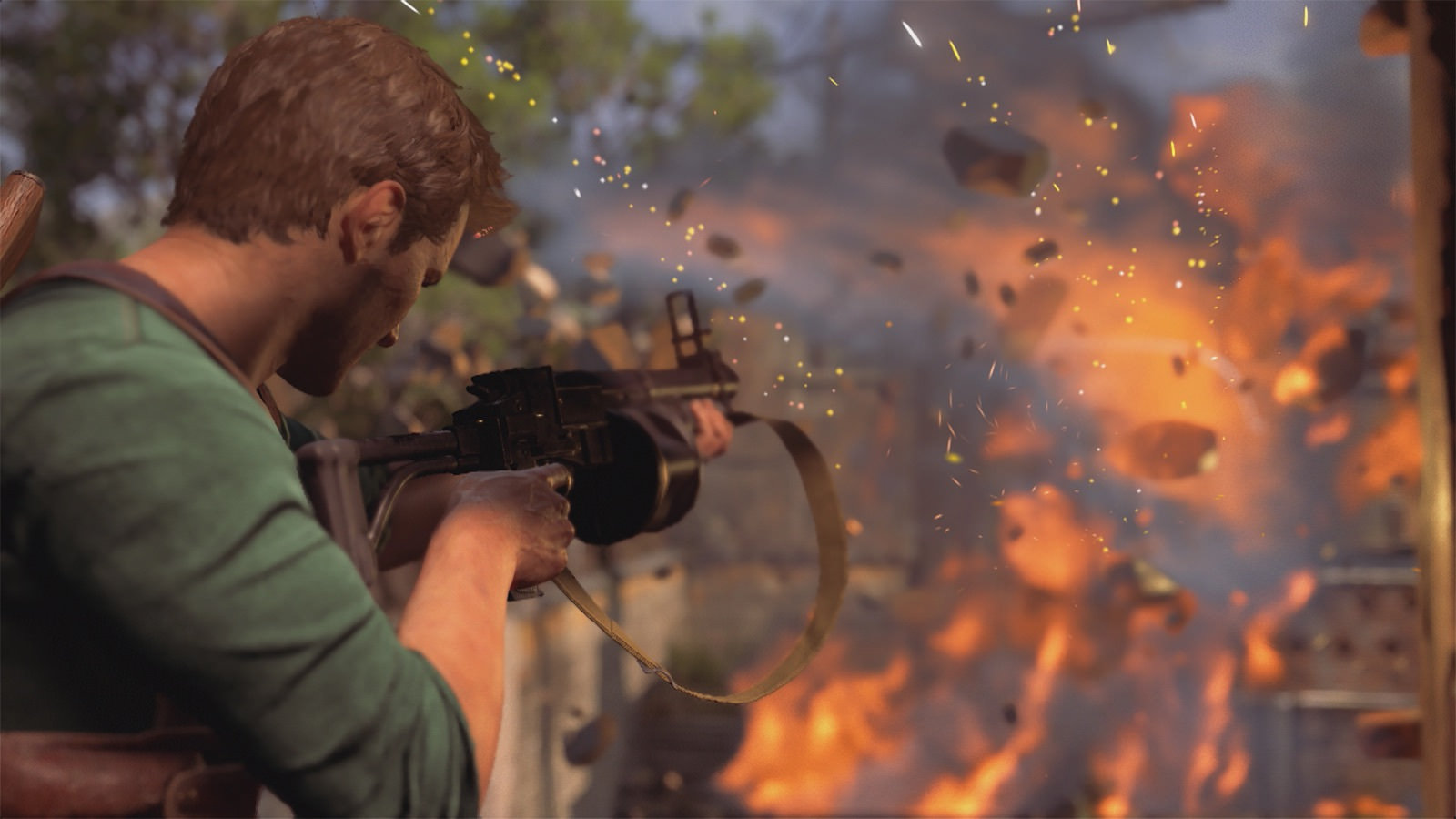Uncharted Iphone Wallpaper Uncharted 4 Multiplayer Will Run At 60fps 900p Here S