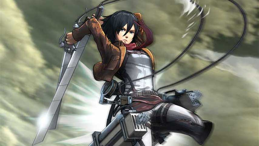Nintnedo Fall Wallpapers New Attack On Titan Gameplay Showcases The 3d Maneuver
