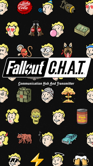 Fall Out Boy Wallpaper Android Send Vault Boy Gifs And Emoji With This New Fallout App