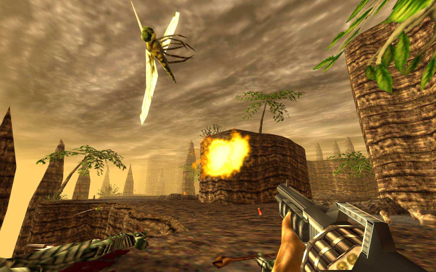 Ps4 Games Hd Wallpapers Get A Load Of The Draw Distance On The Turok Remaster Vg247