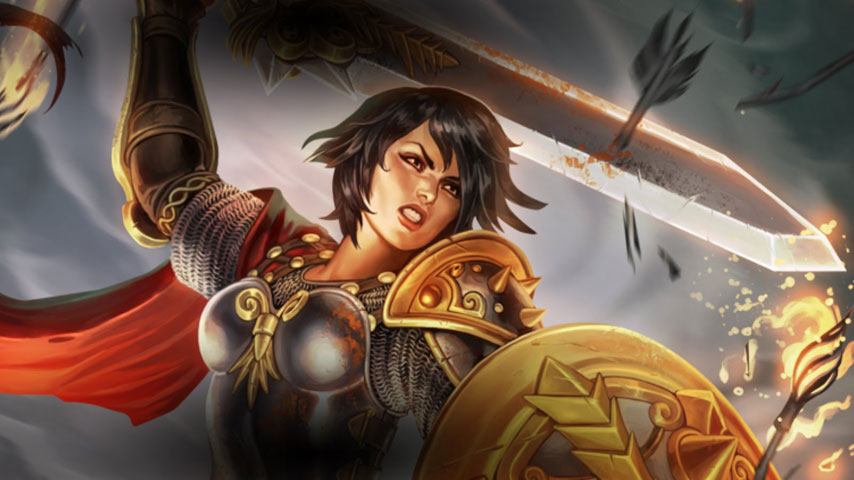 God Of War Mobile Wallpaper Hd 1080p Bellona And Loki Beat Up Thor And Sun Wukong In New Smite