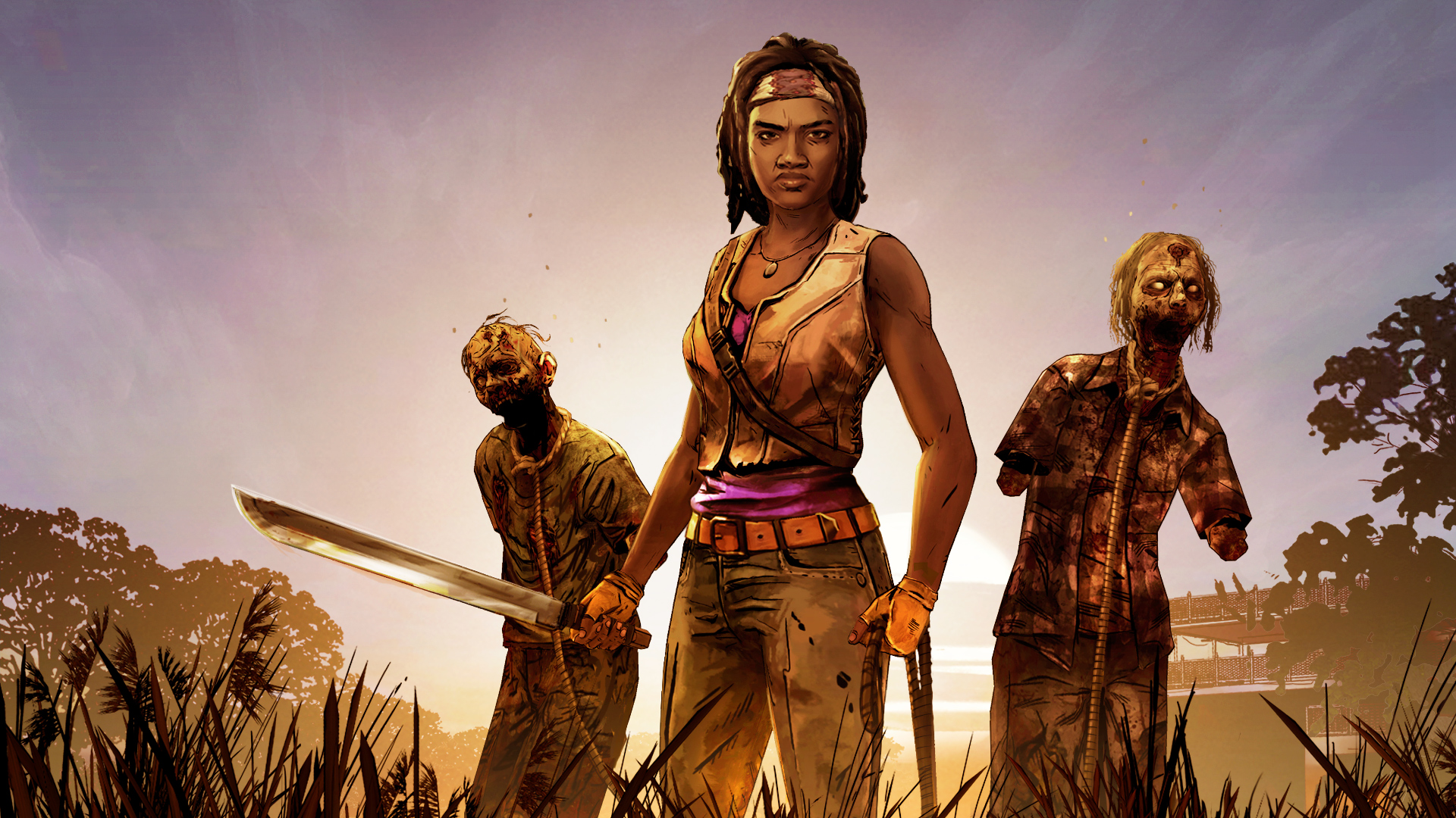Pubg Wallpaper Hd Reddit The Walking Dead Michonne Episode One Gets A Release