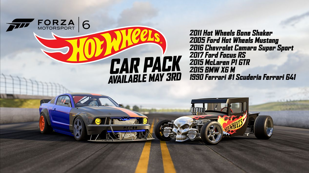 Exotic Cars Wallpaper Pack Forza 6 Players Can Now Download The Hot Wheels Car Pack