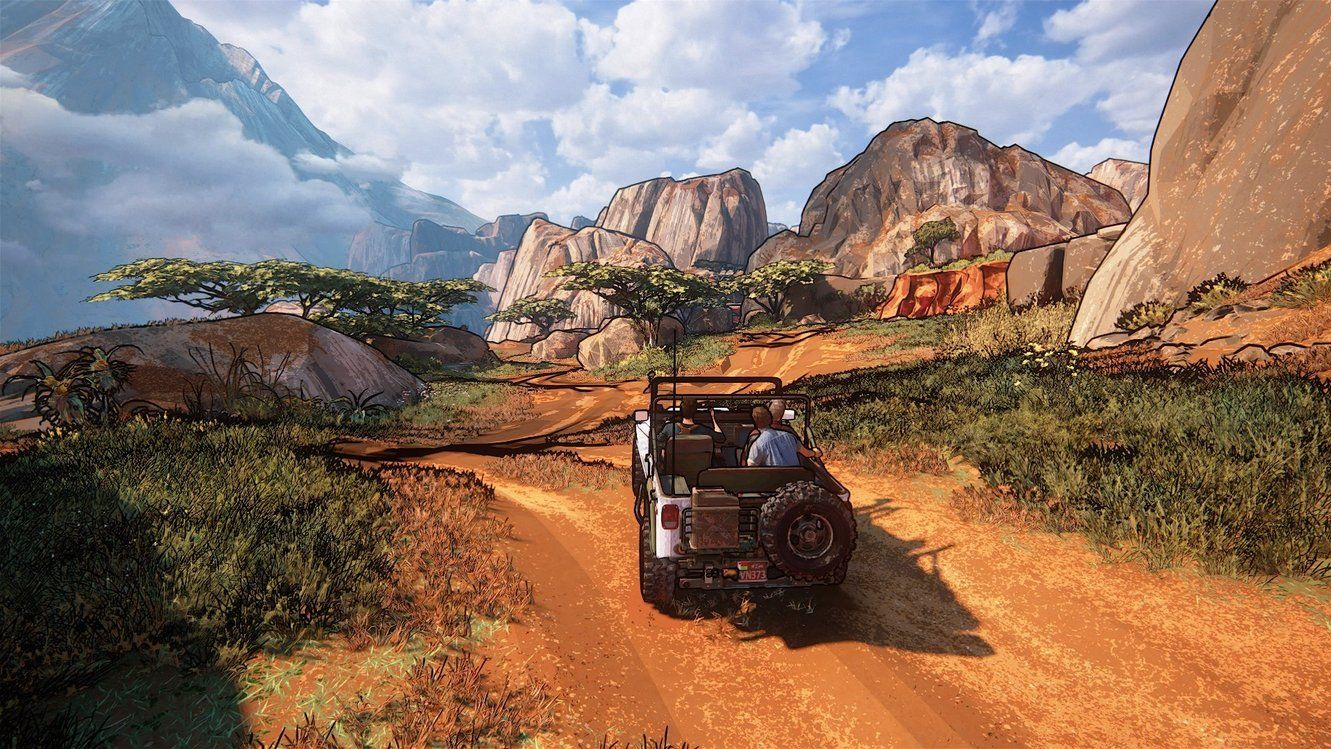 Island 3d Wallpaper Uncharted 4 Looks Rather Great Using The Cel Shading