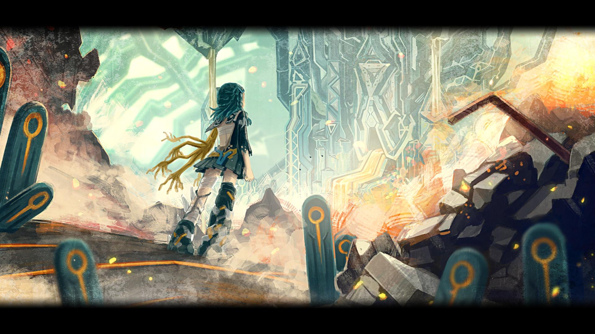 Good Anime Wallpaper Game Freak S Latest Non Pokemon Game Giga Wrecker Enters