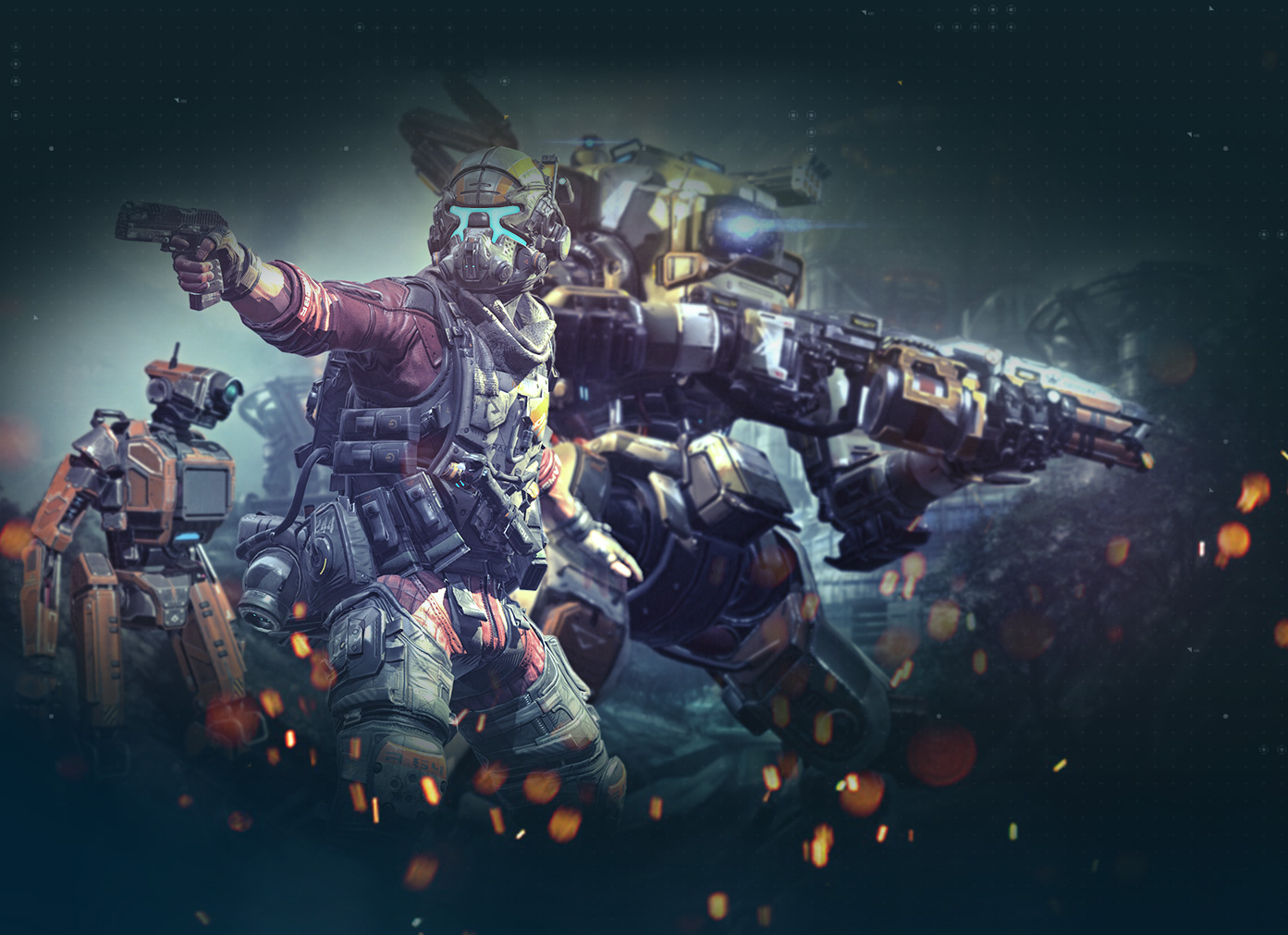 Live Wallpaper Pubg This Titanfall 2 Video Shows Off All Of The Weapons Camos
