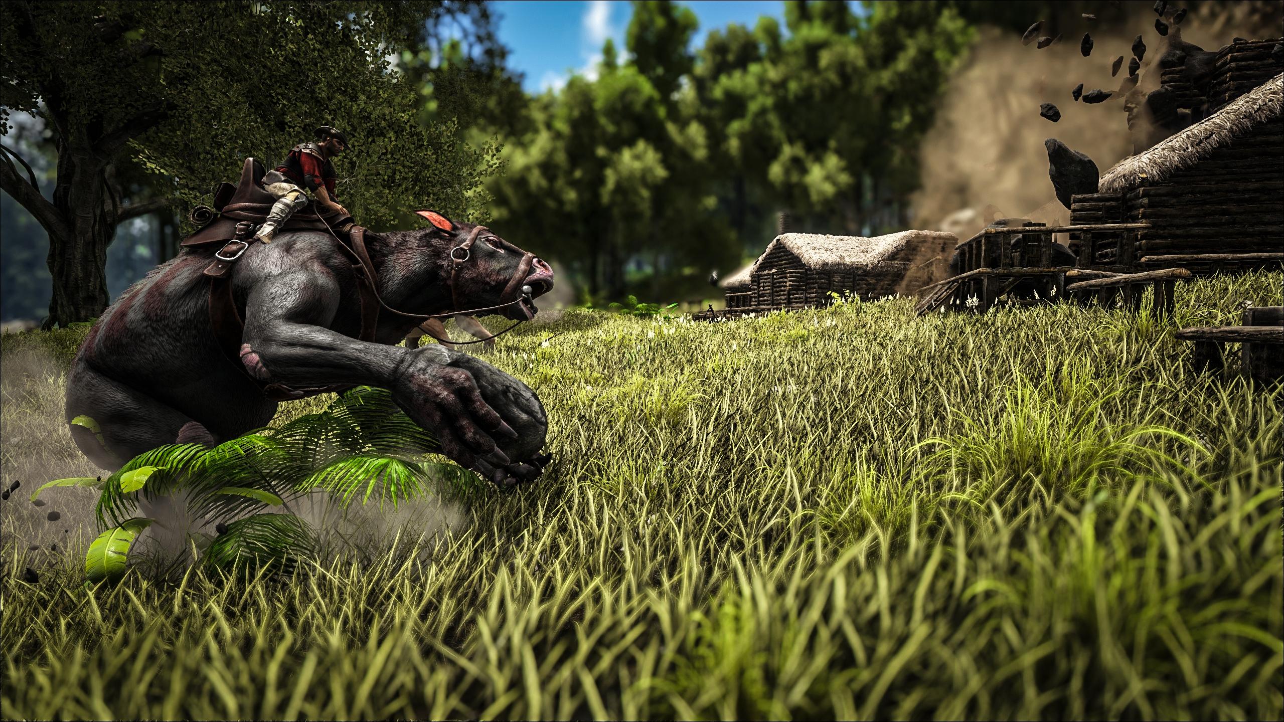 Fear Game Wallpaper Little Girl Latest Ark Survival Evolved Update Includes New Dinosaurs
