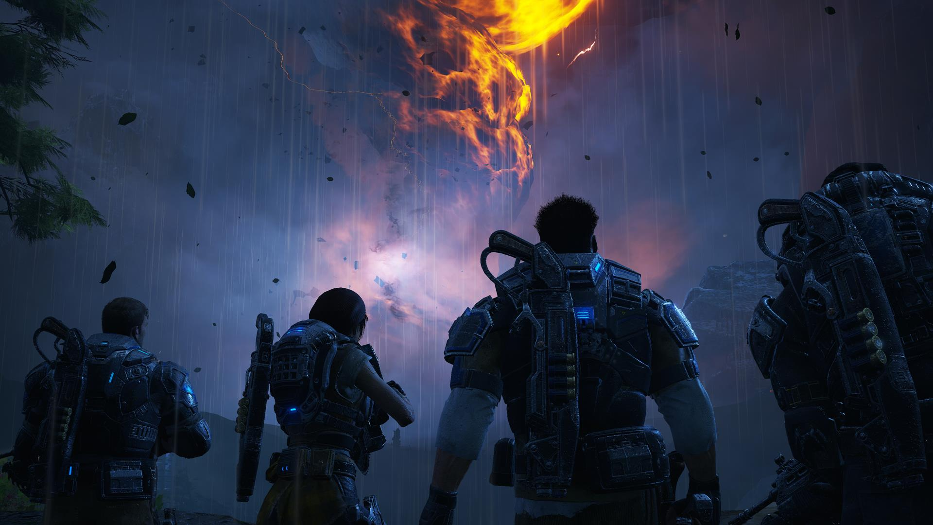 Pubg Map Wallpaper Gears Of War 4 Here S How The Level From The E3 2015 Demo