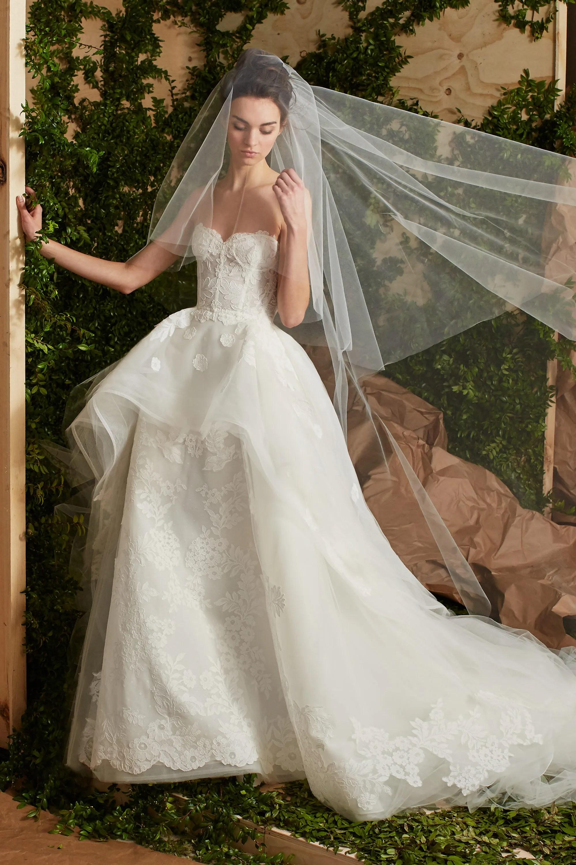 bridal spring bride wedding dress