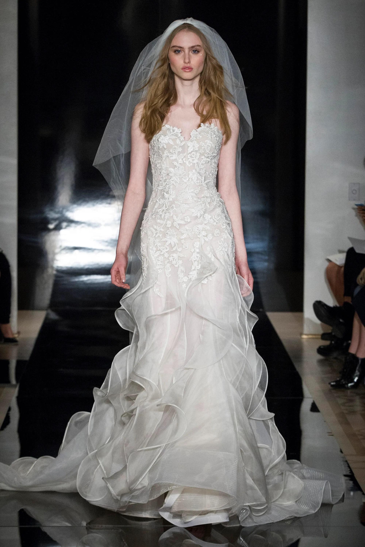 reem acra bride wedding dress