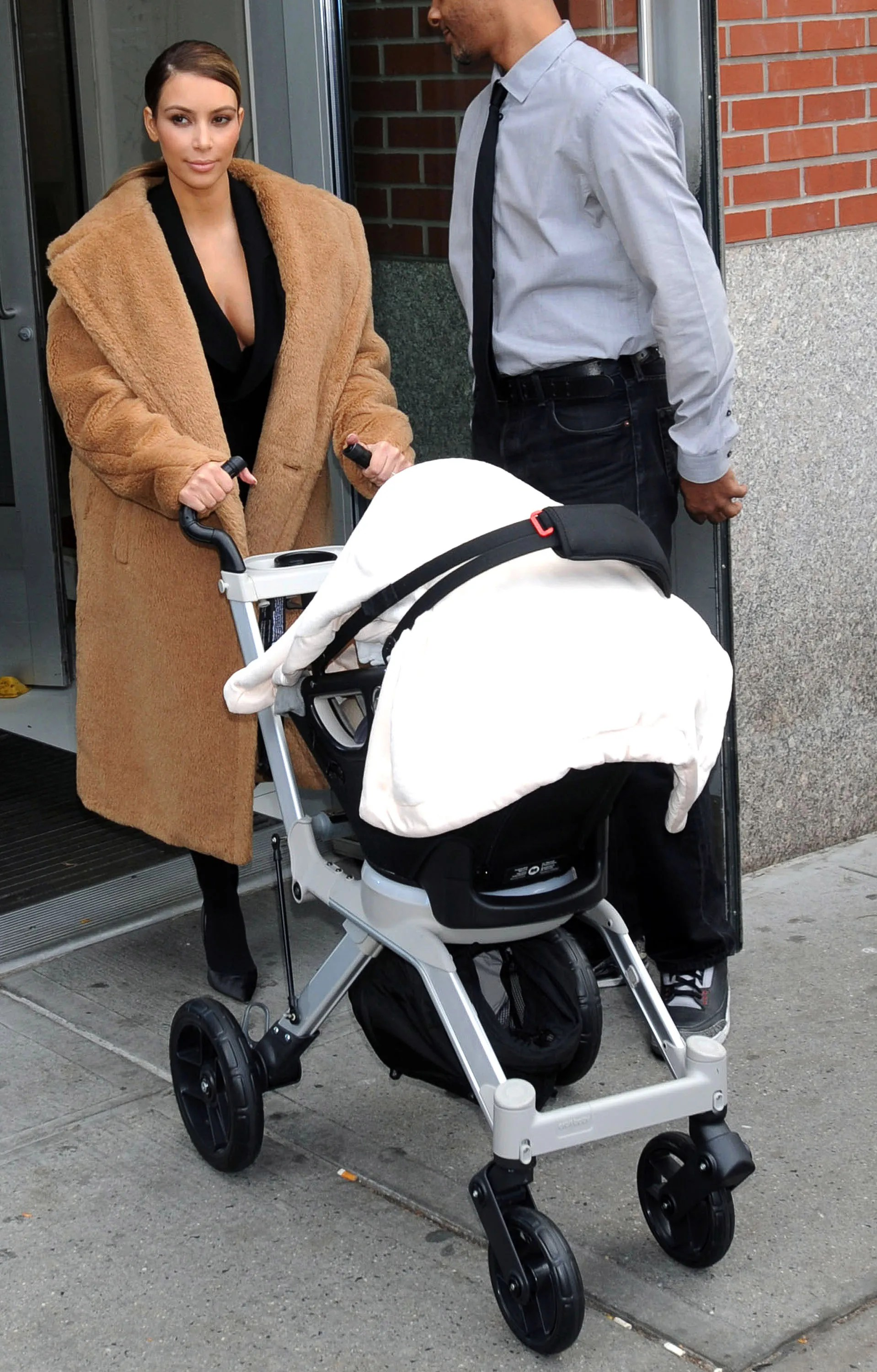 Young Versace Baby White Stroller And Travel Set 8 Stylish Strollers For Saint West At Kanye West S Yeezy