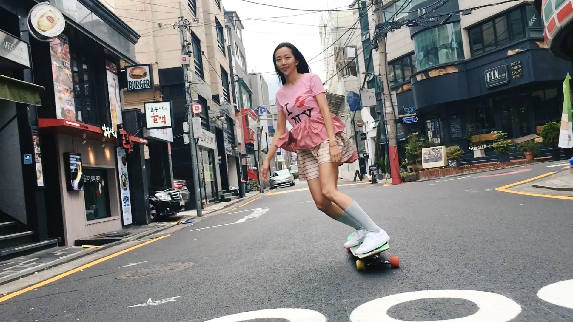 American Wallpaper Fall River Meet South Korean Longboarding Sensation Ko Hyojoo Vogue