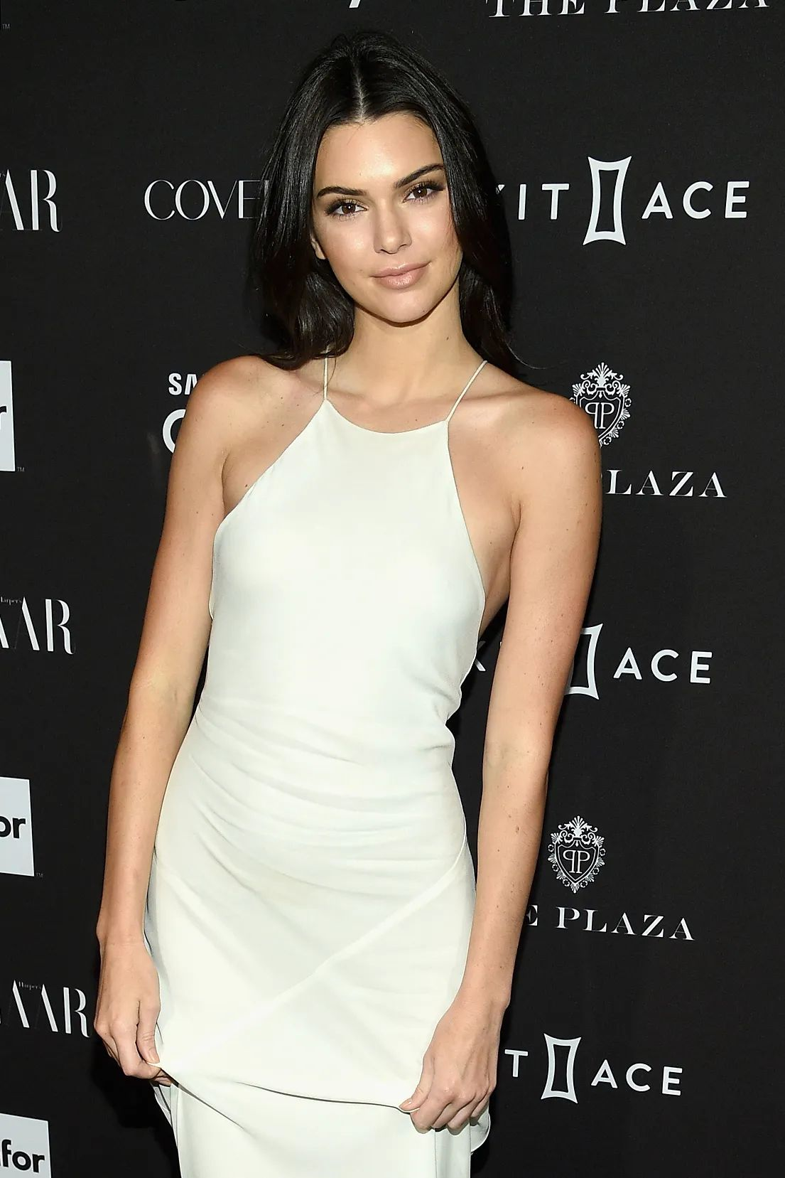 Suki waterhouse kendall jenner and more pair white dresses with nude makeup vogue