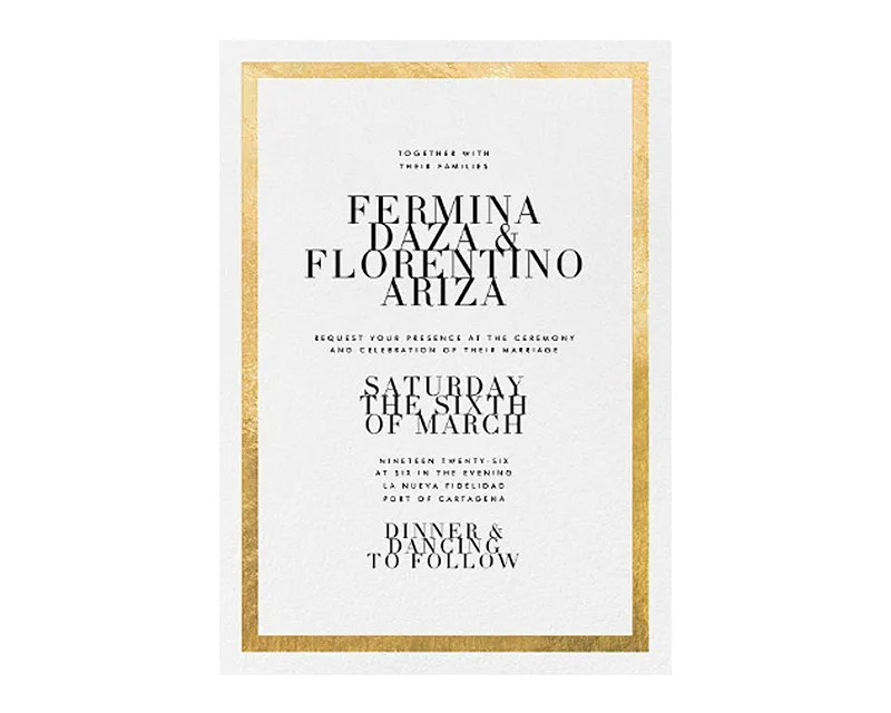 11 Online Wedding Invitations That Make the Case for Going Paperless