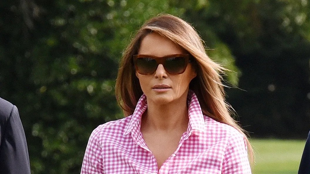 Fall Flannel Wallpaper Melania Trump S J Crew Shirt Is Already Sold Out Vogue