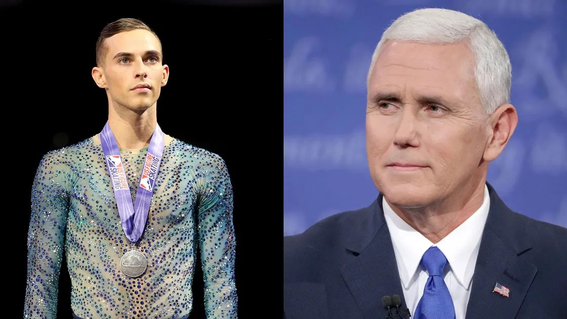 Adam Rippon, Mike Pence, and Why It\u0027s No Longer an Honor for - jason rippon