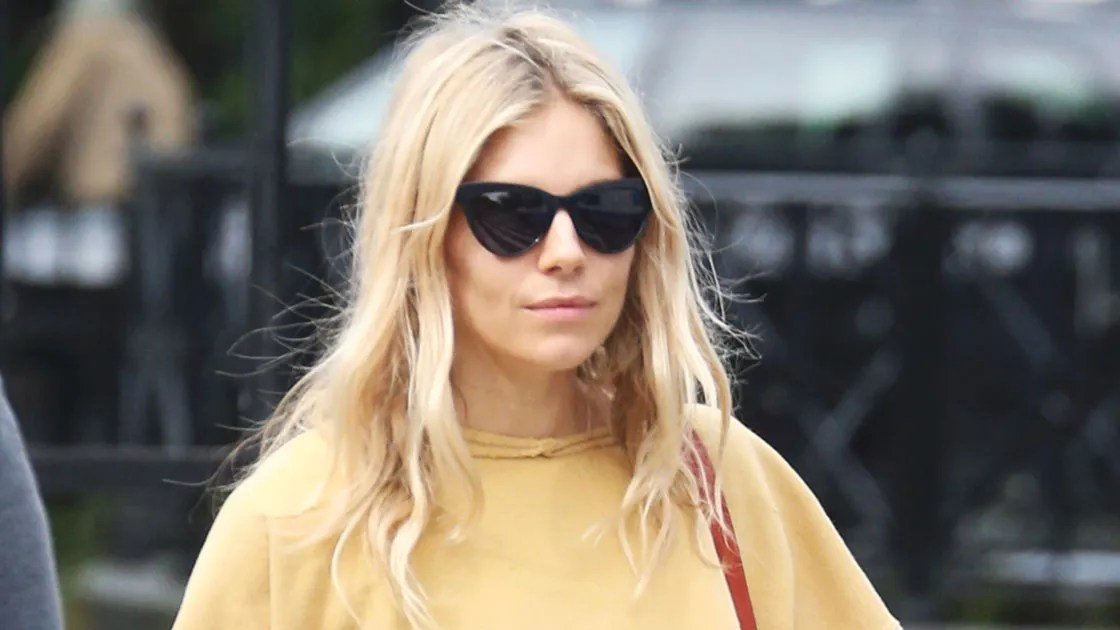 Sienna Miller Reveals A New Dark Blonde Hair Color In New