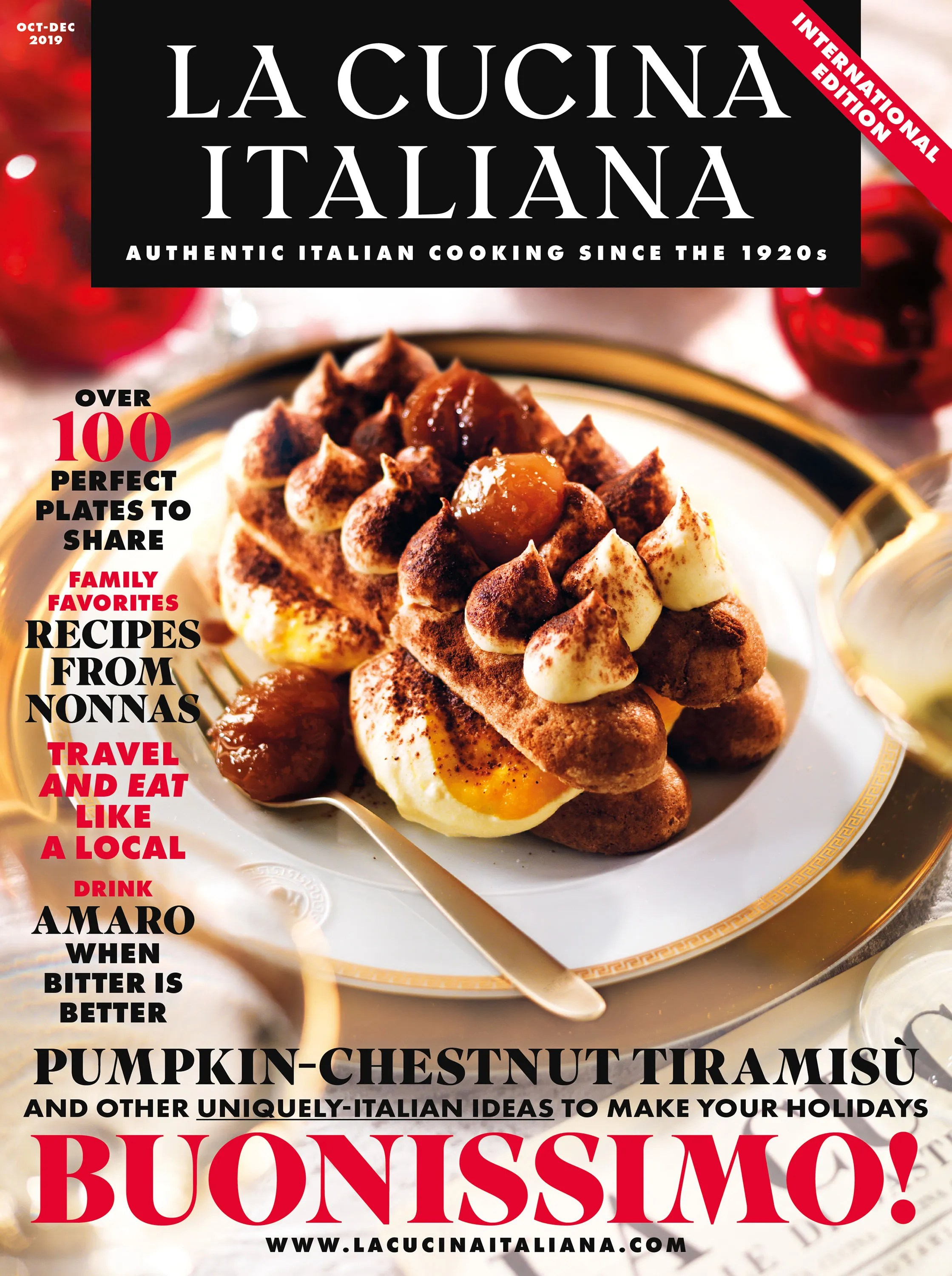 Legendary Culinary Magazine La Cucina Italiana Is Coming Back To The States Here S What To Expect Vogue