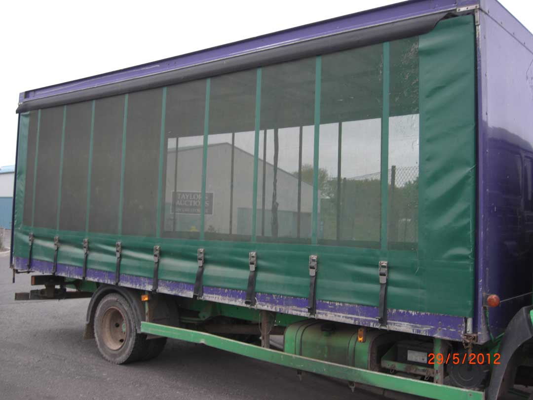 Trailer Curtains Lorry Curtains Covers Montrose Rope Sail