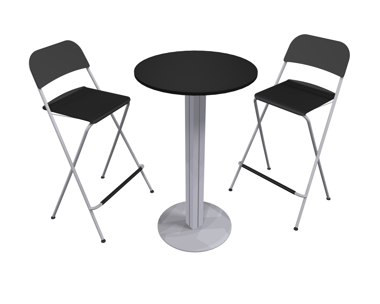 Modern Table And Chairs Xvline Cafe Table And Chairs Trade Show Accessory