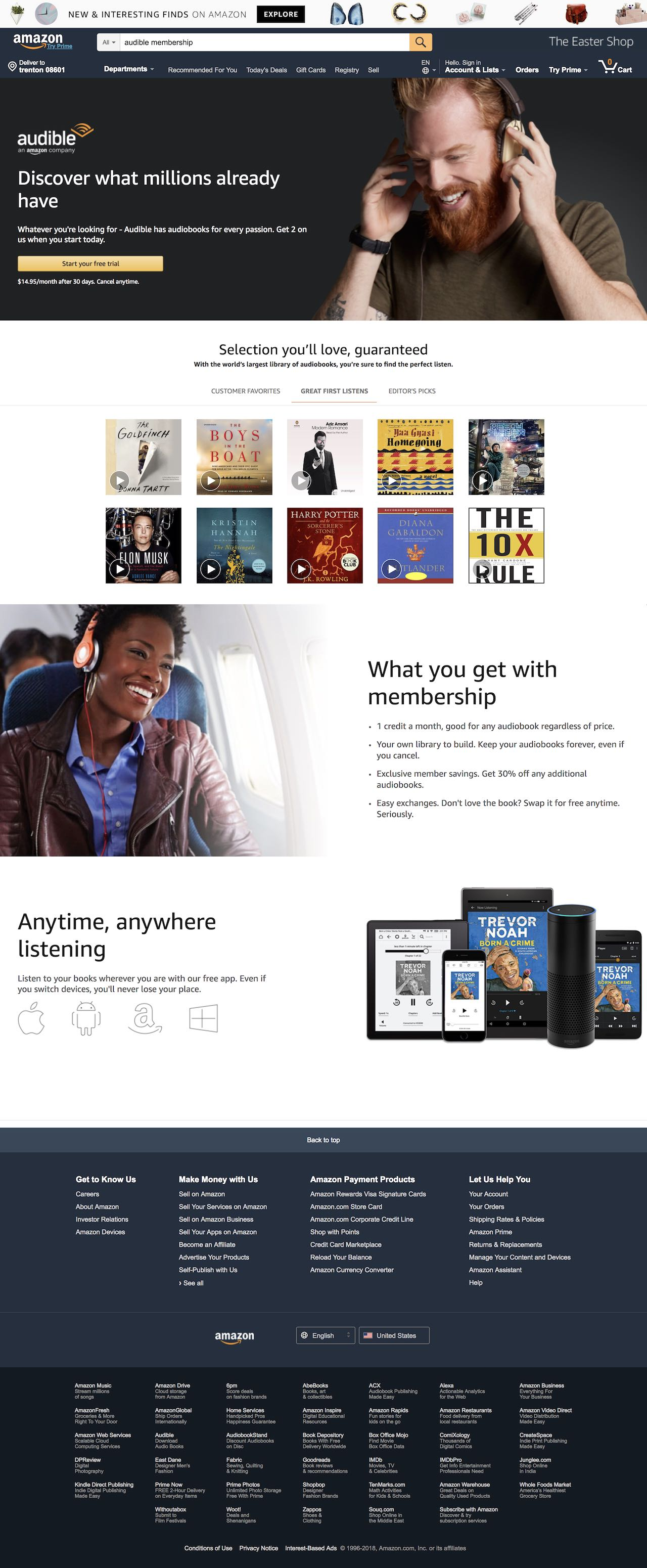 Amazon Audible Cancel Membership Ukuza Elevating The Audible Experience On Amazon