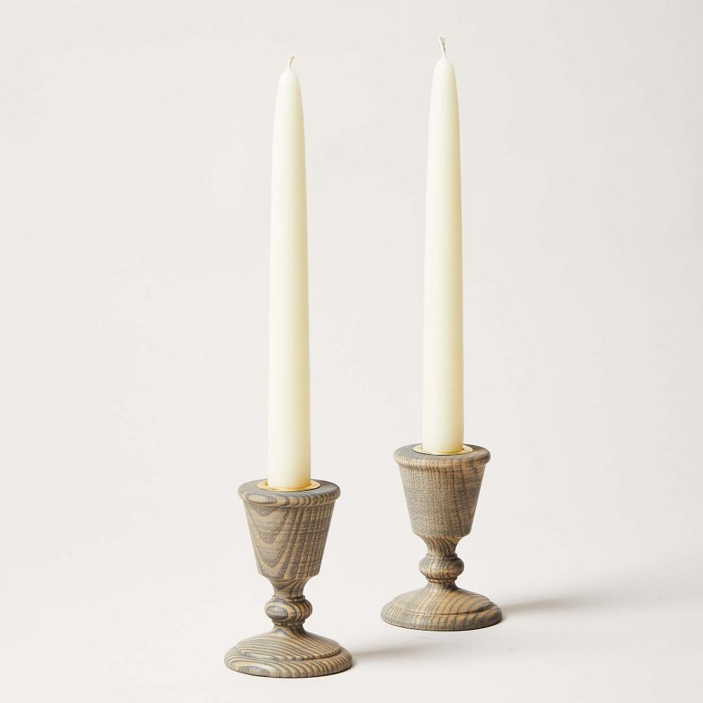 Farmhouse Pottery Countryman Candlesticks