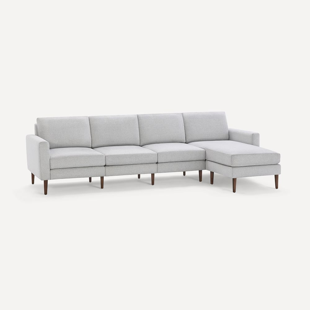 Burrow Nomad King Reversible Chaise Sectional 112