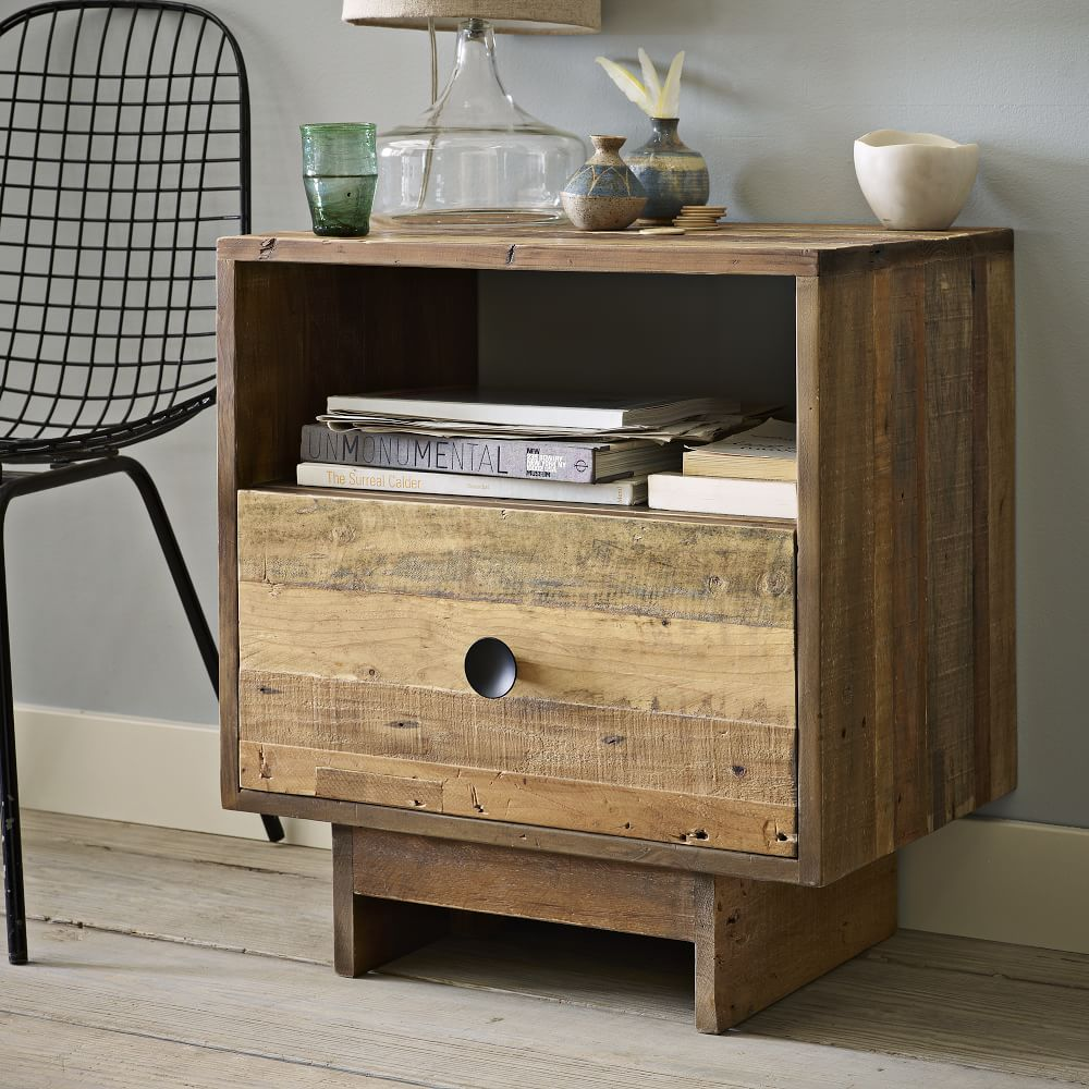 Emmerson Reclaimed Wood Nightstand