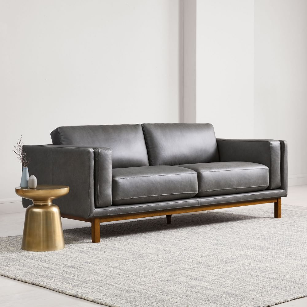 Dekalb Leather Sofa