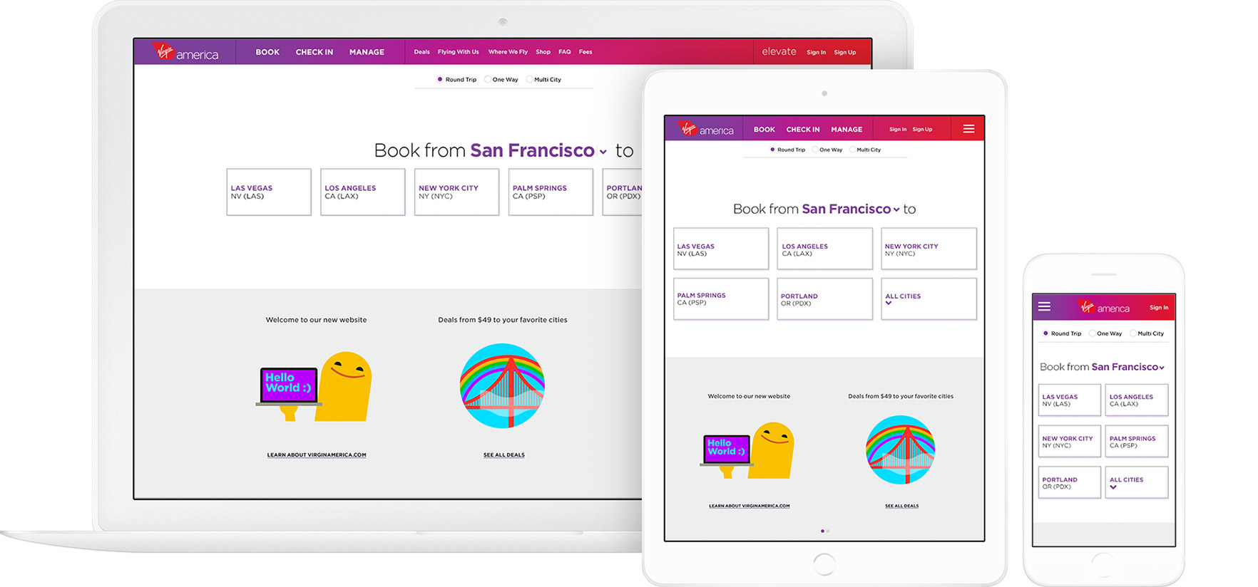 Booking Site Case Study Virgin America Work Co