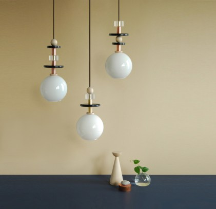 Maru Pendants by Ladies & Gentlemen Studio | Yellowtrace.
