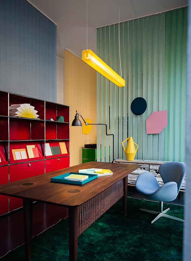 Modern Home Office Design Spotti Happy Office Happy Home During Milan Design Week