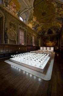 Studio Job for Lensvelt installation at Salone del Mobile 2013 | Yellowtrace.