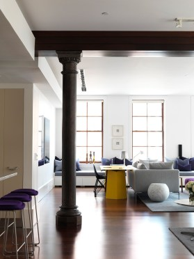 Interior Design of Tribeca Loft, NYC by Nexus Designs | Yellowtrace.