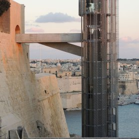 Barrakka Lift, Malta by Architecture Project | Yellowtrace.