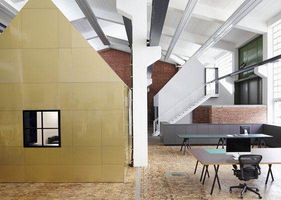 'Halle A' Creative Studio Space by Designliga, Munich, Germany | Yellowtrace.