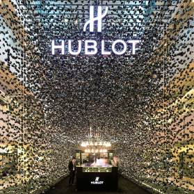 Hublot Pop-Up Store, Singapore by Asylum Creative Pte Ltd | Yellowtrace.