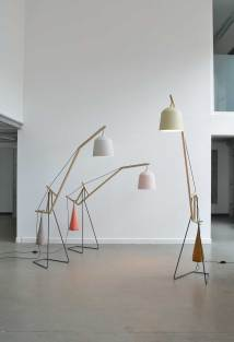 A Floor Lamp by Aust & Amelung | Yellowtrace.